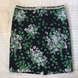 Talbots Oprah Collection Floral skirt size 16